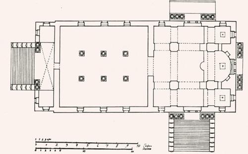 План Знаменского собора (1840 г.)