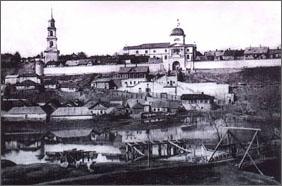 Елецкий Знаменский монастырь (середина XIX века)