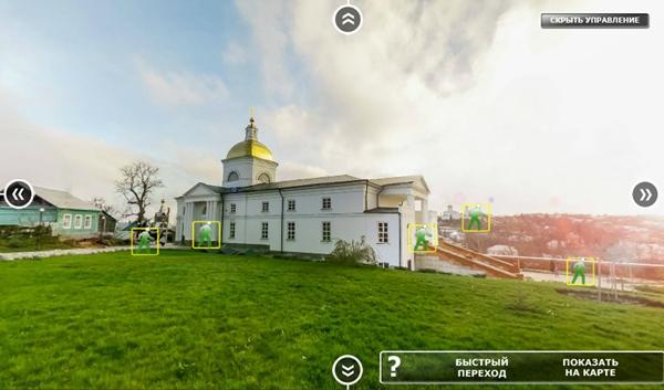 Елецкий Знаменский женский монастырь. Виртуальный тур